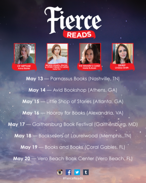 {Event Recap+Giveaway} #FierceReads Author Tour: Vero Beach Book Center