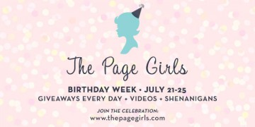 {Bookish News+Giveaway} The Page Girls Birthday week and Launch!