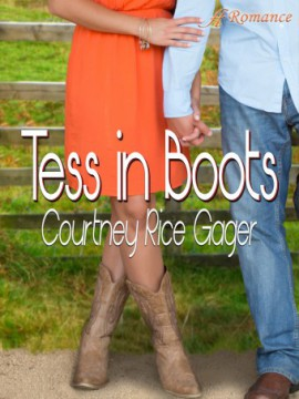 {Review+Giveaway} Tess in Boots by Courtney Rice Gager @CourtneyRGager