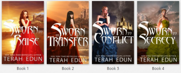 {Kindle Giveaway} Courtlight Series and Crown Service Series Spotlight by Terah Edun @tedunwrites