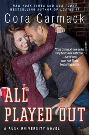 {ARC Review+Giveaway} All Played Out by @CoraCarmack @InkSlingerPR