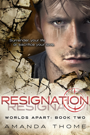 {Review} Resignation by Amanda Thome @worldsaparttril