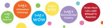 {Event Kickoff+Giveaway} Scholastic's #IReadYA week