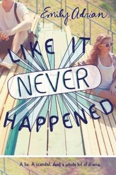 {Review} Like it Never Happened by Emily Adrian @adremily