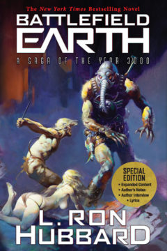 {Guest Post+Book Re-Launch} Battlefield Earth: A Saga of the Year 3000 by @LRonHubbard