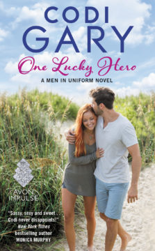 {Review+Excerpt+Giveaway} One Lucky Hero by @CodiGary @AvonImpulse