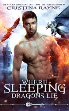 {Review} Where Sleeping Dragons Lie by Cristina Rayne