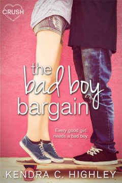 {Review+Giveaway} The Bad Boy Bargain by @KendraHighley @entangledteen