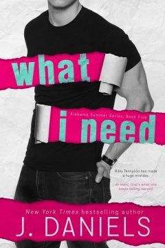 {Review+Giveaway} What I Need by J. Daniels @JDanielsbooks