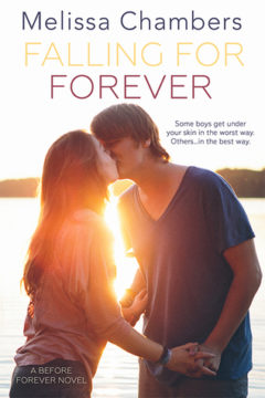 {Release Day Review+Giveaway} Falling for Forever by @MelChambersAuth @EntangledTeen