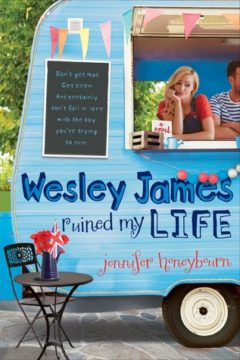 {Review+Giveaway} Wesley James Ruined My Life by Jennifer @Honeybourn @SwoonReads @FierceReads