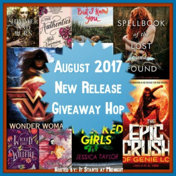 {#Giveaway } August New Release Giveaway!