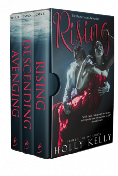 {Interview+Giveaway} The Rising Series by Holly Kelly