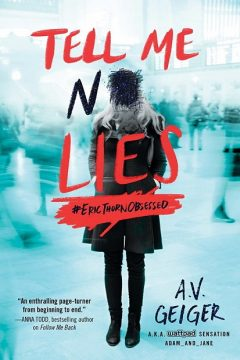 {Giveaway} Tell Me No Lies by @AV_Geiger
