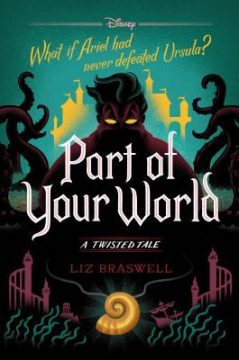 {Mermaid Makeup+Giveaway} #PartofYourWorld by Liz Braswell #ATwistedTale