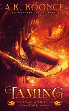 {Review+Giveaway} Taming by A.K. Koonce