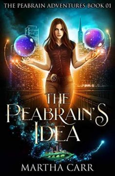 {Review+Giveaway} The Peabrain's Idea by Martha Carr