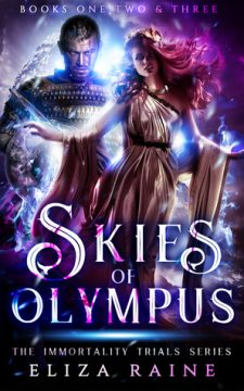 {Review+Giveaway} Skies of Olympus by Eliza Raine