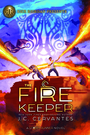 The Fire Keeper by J.C. Cervantes, Jennifer Cervantes, Irvin Rodriguez