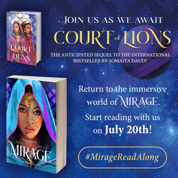 {Bookish Event} Mirage by @SomaiyaDaud #Readalong #MirageReadalong @FlatironBooks