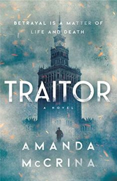 {ARC Review+Giveaway} Traitor by Amanda McCrina @FierceReads #ReadTraitor