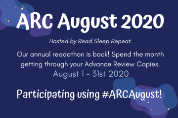 {Reading Challenge} #ARCAugust 2020: #Wrapup!