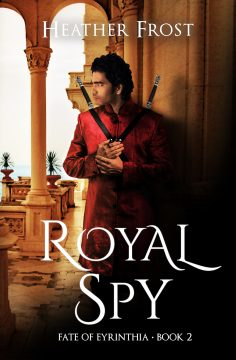 {Cover Reveal+Preorder Gift} Royal Spy by @HeatherFrost