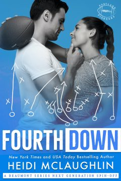 {Excerpt+Giveaway} Fourth Down by Heidi McLaughlin